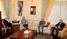 الحريري التقت المحافظ ضو والمهندس السعودي والعميد شمس الدين