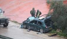 المخابرات الفلسطينية تعلن اغتيال إسرائيل أحد ضباطها في نابلس بدم بارد