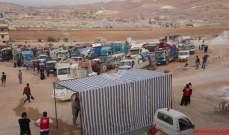 الجيش يقوم بجولة على مخيمات عرسال للتأكد من هدم غرف الباطون
