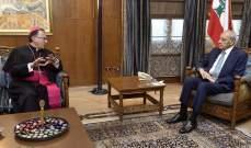 السفير سبيتري بعد لقاء بري: لمزيد من الوحدة من اجل مواجهة المشاكل