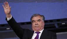 رئيس طاجيكستان: المفاوضات بين قادة بنجشير و