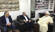 الشيخ ماهر حمود استقبل وفداً من القيادة القطرية لحزب البعث