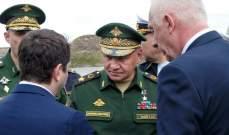 شويغو بحث مع نائب رئيس مجلس وزراء كوبا قضايا الأمن بمنطقة الكاريبي