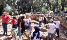 طلاب الجامعة اللبنانية يكتشفون آثارًا جديدة في عندقت العكّارية
