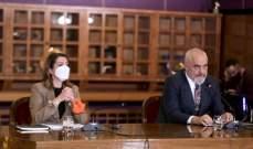 رئيس وزراء ألبانيا: تركيا بمقدمة الدول التي نتبادل معها الخبرات بمكافحة كورونا