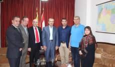 أبو سعيد التقى النائب عزّ الدين وبحث معه قضايا حقوقية