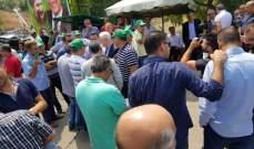 """""""النشرة"""": حركة """"امل"""" تبدأ اعتصامها أمام معمل الزهراني للكهرباء"""