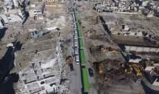 """النشرة: مسلحو """"جيش الإسلام"""" في الضمير بريف دمشق يواصلون تسليم أسلحتهم الثقيلة"""