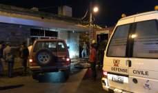 النشرة: الدفاع المدني أخمد حريقا في محل لبيع الأدوات المنزلية بحوش الأمراء