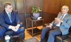 صالح استقبل قنصل بولندا في لبنان وبحثا سبل تطوير العلاقات التجارية