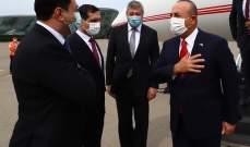 وصول وزير الخارجية التركية إلى أذربيجان لبحث آخر التطورات المتعلقة بإقليم قره باغ