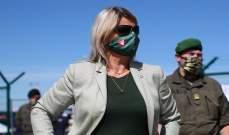 السلطات النمساوية: وزيرة الدفاع مصابة بكورونا وتزاول عملها من المنزل