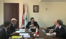 ممثلو شركات الاسمنت زاروا وزير البيئة ووضعوا أنفسهم تحت رقابة ومرجعية الوزارة