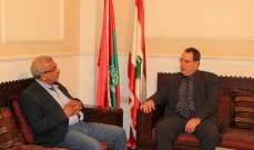 النائب أسامة سعد استقبل سفير كوبا الجديد ووفدا مهنئة بفوزه