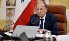 الرئيس عون: نرفض انتظار الحل السياسي لعودة النازحين ونستغرب مواقف بعض الدول الكبرى