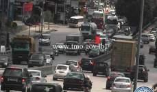 التحكم المروري: تصادم على جسر الدورة وحركة المرور كثيفة