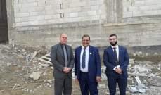 جولة للسفير الكوبي في مخيم نهر البارد