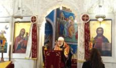 عودة ترأس قداساً إلهياً في كنيسة مار متر بالأشرفية احتفالاً بعيد القديس ديمتريوس