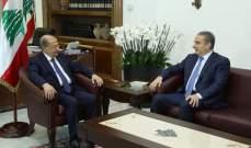 الرئيس عون تابع التطورات الأمنية وتلقى تقارير حول الإجراءات على الحدود