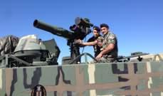 مدفعية الجيش اللبناني الثقيلة تقصف مواقع