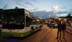 النشرة: دخول 15 باصا لنقل الدفعة 15 من العودة الطوعية للنازحين السوريين