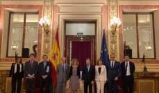 باسيل من إسبانيا: لبنان غير قادر على تحمل اعباء النزوح