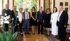 أمين الجميل التقى النائبة الأسترالية اللبنانية الأصل مارلين كيروز