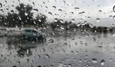 النشرة: الدفاع المدني بالنبطية عمل على سحب المياه من طريق تول وفتح الطريق