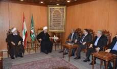 عبد الامير قبلان: القضية الفلسطينية قضية العرب والمسلمين
