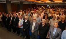 سفارة فلسطين كرمت رئيس اتحاد المهندسين اللبنانيين جاد تابت