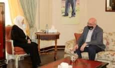الحريري تداولت مع لنغدن بآخر المستجدات والعلاقات الثنائية بين لبنان وبريطانيا
