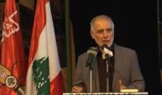 فنيش: لا بد من ان يستفيد لبنان من اعادة فتح المعابر السورية