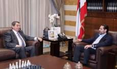 الحريري التقى الفرزلي في بيت الوسط وعرض معه لآخر التطورات والأوضاع العامة