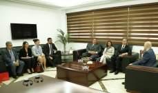 لقاء تعاوني بين وزير خارجية إمارة موناكو وحاصباني