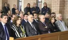 اسحق شارك في قداس الاحد في سيدني والتقى الجالية اللبنانية
