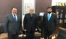 القائم بالاعمال في السفارة العراقية بحث مع رعد بعدد من القضايا ذات الاهتمام المشترك