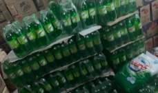 مديرية الجمارك ضبطت كميات من المواد الإستهلاكية المهربة من سوريا