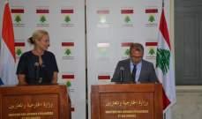 كاغ: هولندا ستساعد لبنان لمواجهة الضغوط جراء أزمة النازحين السوريين