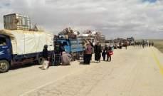دفعة جديدة من المهجرين القادمين من مخيم الركبان عادوا الى سوريا
