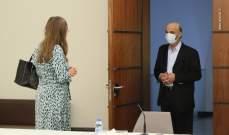 جعجع عرض مع سفير الدنمارك آخر التطورات السياسيّة