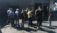 عناصر أمن الدولة ألزموا محطات الوقود المغلقة بجبل لبنان والنبطية بالفتح وبيع مخزونهم