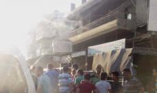 توقيف شاحنة محملة بالحليب على طريق حلبا وتوزيعه على المارة
