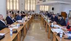 لجنة المال تنهي اقرار كل موازنات الوزارات والادارات