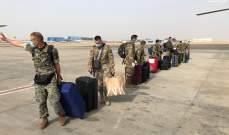 الجيش: إعادة عشرة ضباط ورتيب على متن مروحية كانوا بمهمة تدريبية بمصر