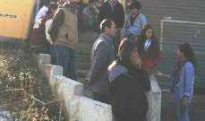 اقفال مكاتب شركة الكهرباء وامانة السجل العقاري في راشيا