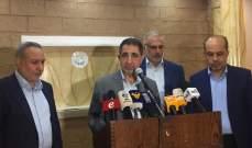 حسين الحاج حسن: لن نسمح باقفال اي بئر محفور خلافاً للقانون