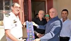 سفارة فرنسا كرمت يوسف غرزالدين برأس المتن لمشاركته بالحرب العالمية 2