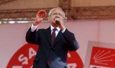 زعيم المعارضة التركية يدعو إلى حوار مباشر بين أنقرة ودمشق