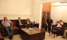 سعد يلتقي وفدا من الحركة الوطنية للتغيير برئاسة نعمان