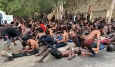 155 مهاجرا إفريقيا عبروا حدود سبتة الإسبانية من شمال المغرب